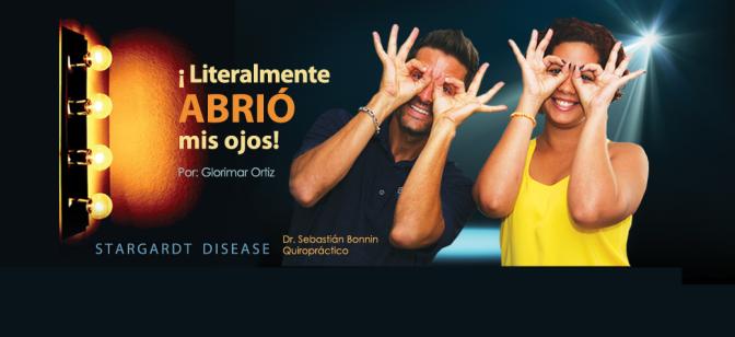Dr. Sebastián Bonnin, Quiropráctico, ayuda con Stargardt Disease