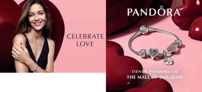 Celebrate Love… Pandora, Mall of San Juan