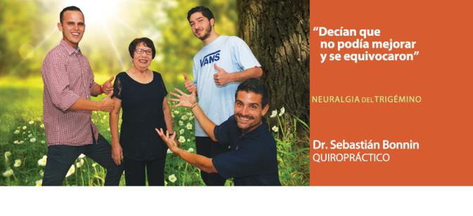 Dr. Sebastián Bonnin, Quiropráctico, ayuda con la neuralgia del trigémino