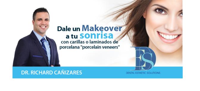 Dr. Richard Cañizares le puede dar un makeover a tu sonrisa