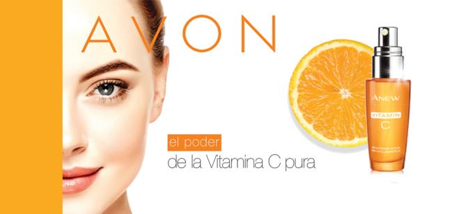 Avon… ahora con el poder de la Vitamina C