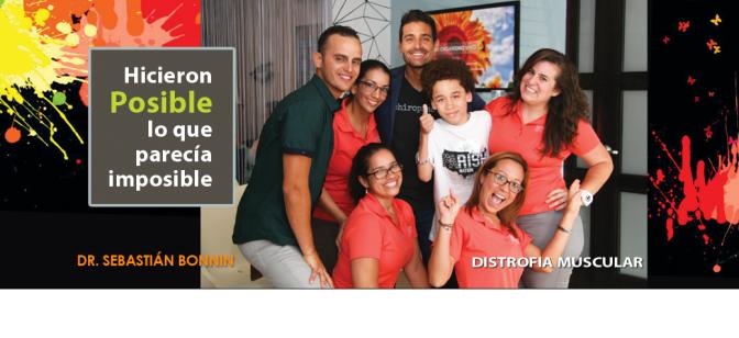 Dr. Sebastián Bonnin… conoce cómo la quiropráctica ha podido mejorar al paciente con distrofia muscular