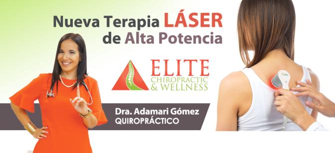 Elimina el dolor con la más avanzada tecnología láser… con la Dra. Adamari Gómez