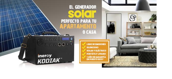 Kodiak… el generador solar perfecto para tu hogar