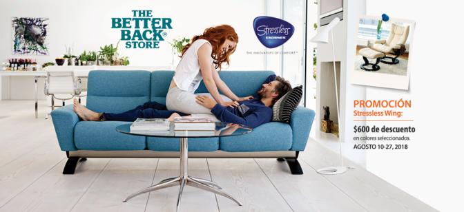 Better Back Store… lo mejor de dos mundos, diseño y confort
