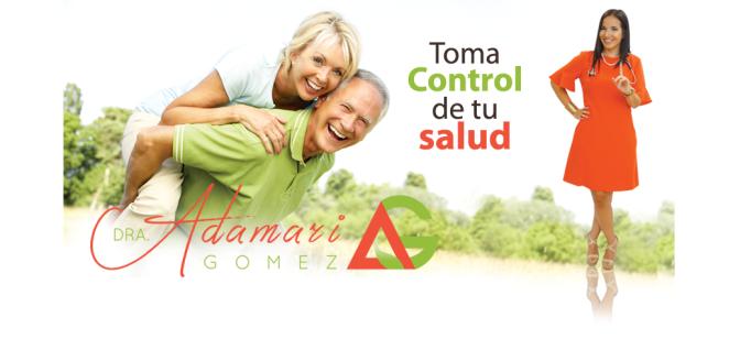 Dra. Adamari Gomez, quiropráctica