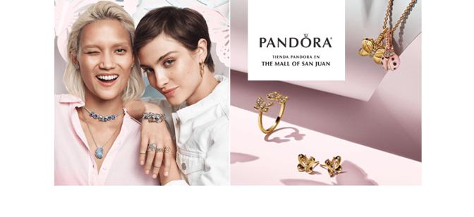 Pandora, The Mall of San Juan… con nueva colección de Primavera
