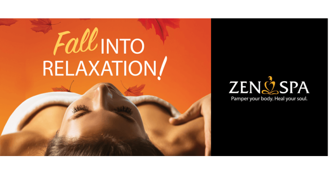 Zen Spa… Pamper your body, Heal your Soul