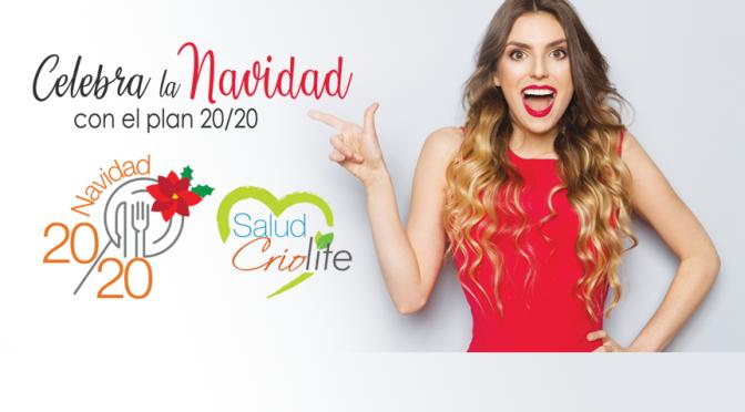 Criolite… celebra Navidad con 20/20