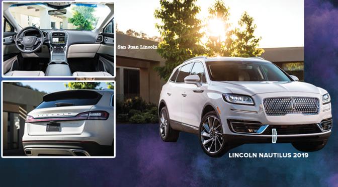 Lincoln Nautilus 2020… lujo impecable, tecnología y potencia