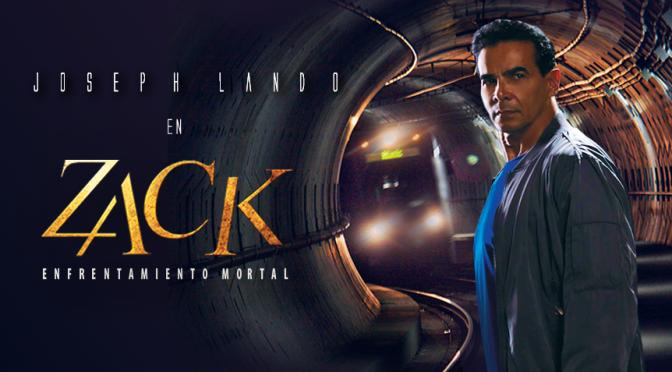 Joseph Lando como Zack: Enfrentamiento Mortal… ¡PRONTO!