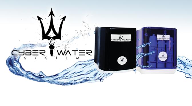 CyberWater, agua nutritiva, pura y alcalina