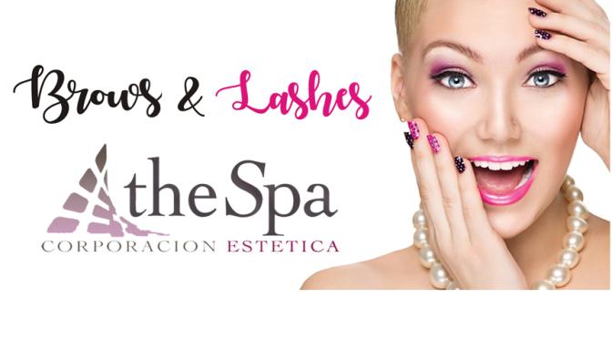 The Spa, Corporación Estética… Brows & lashes